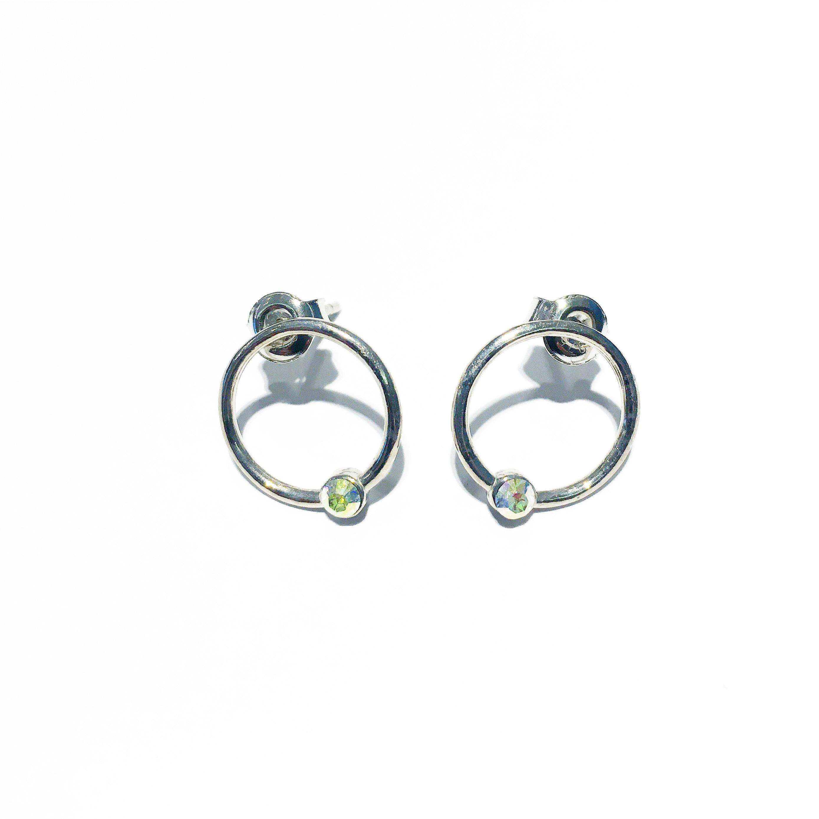Обици - Tinted Mini Hoops