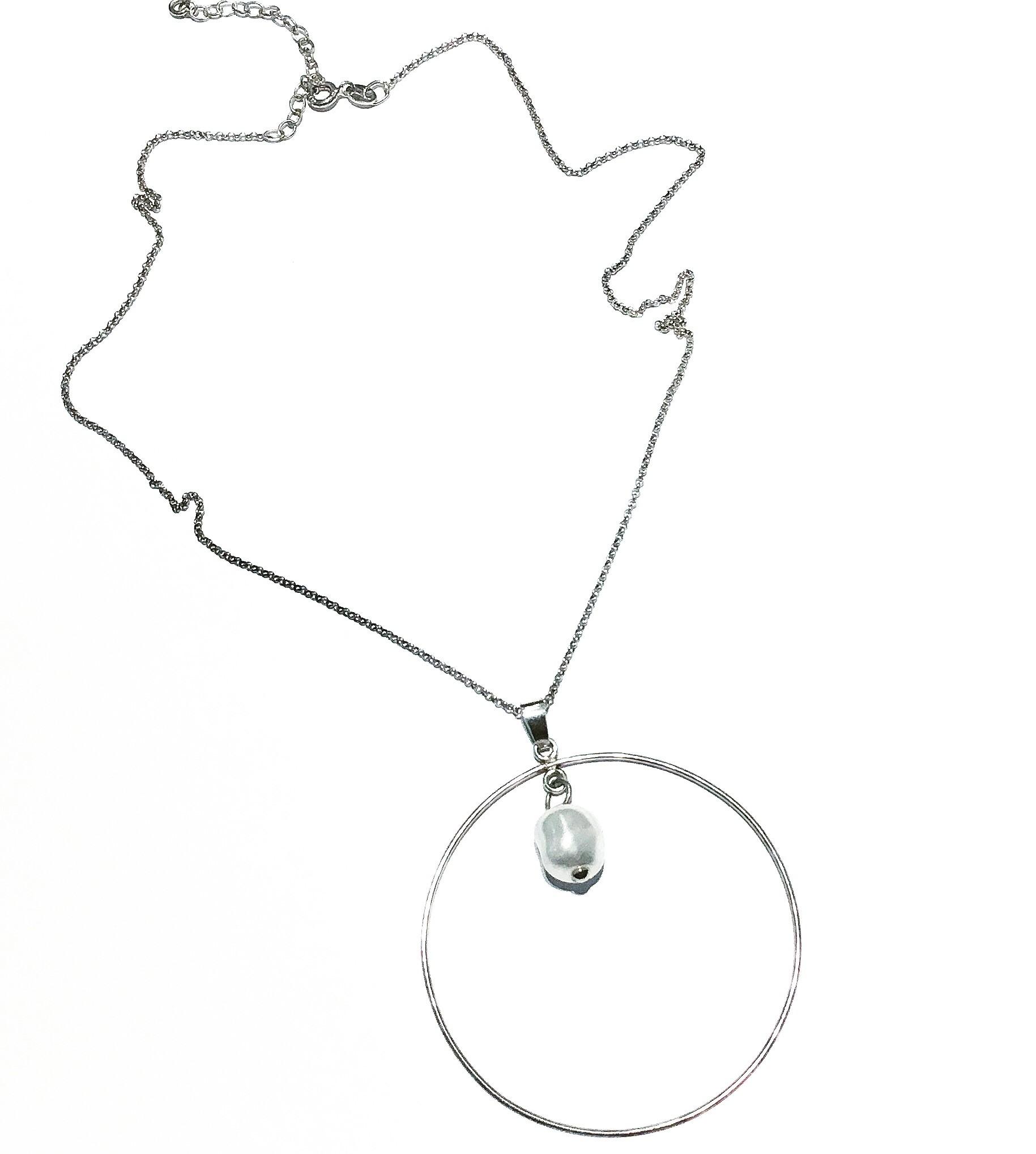 Колие - Silver Pearl