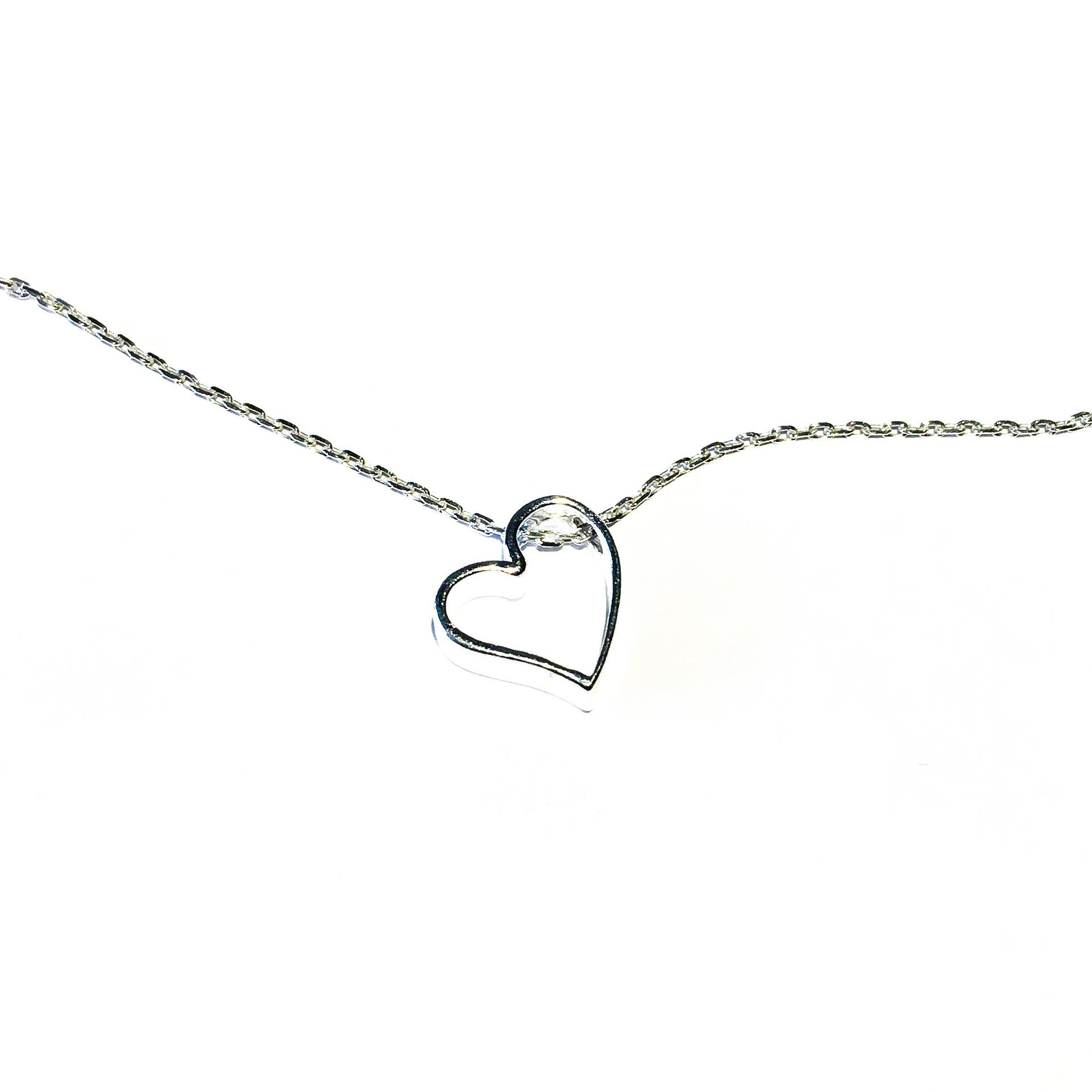 Колие - Silver Heart