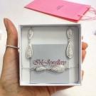Комплект обици и гривна - Swarovski Crystal Shine