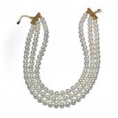 Колие чокър - White Pearls