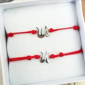 Комплект гривни - Silver Letter